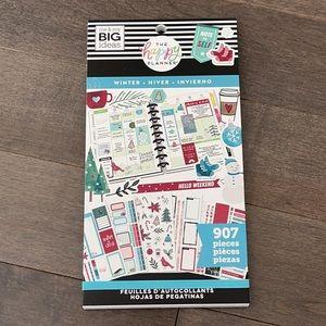 HAPPY PLANNER Winter Sticker Book